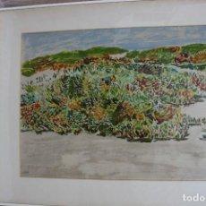 Arte: SERIGRAFIA FRANCISCO LOZANO FIRMADA Y NUMERADA. Lote 111619567