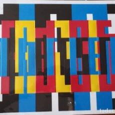 Arte: LITOGRAFÍA. ALBERT ISERN. KOPEK BAUHAUS. Lote 111791011