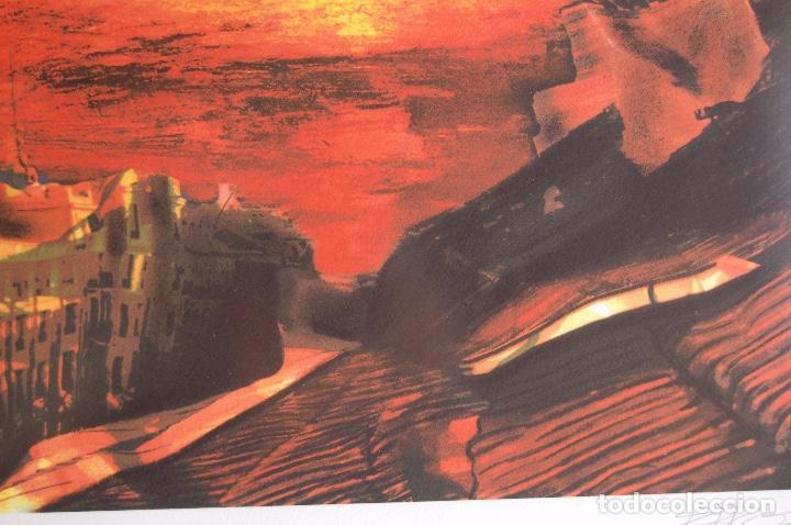 Arte: Firma sin identificar. Serigrafía de 64 x 38 enmarcada en 77 x 57. Muy buen estado. 4/75 - Foto 5 - 116241039