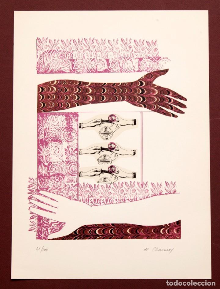 COZETTE DE CHARMOY - S/T - SERIGRAFÍA A DOS TINTAS 61/100 (Arte - Serigrafías )