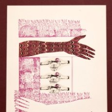 Arte: COZETTE DE CHARMOY - S/T - SERIGRAFÍA A DOS TINTAS 61/100. Lote 116620387