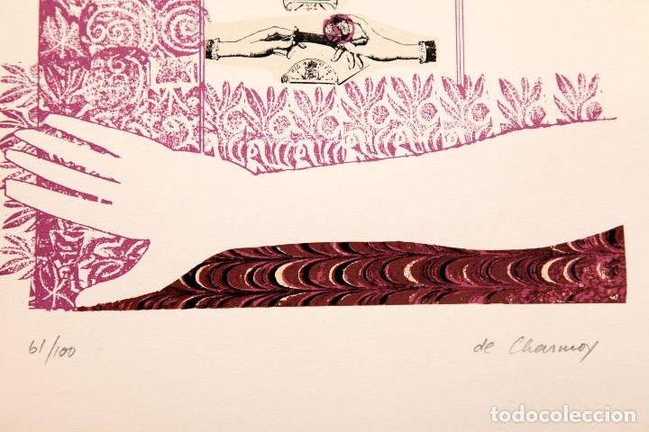 Arte: Cozette de Charmoy - S/T - Serigrafía a dos tintas 61/100 - Foto 3 - 116620387