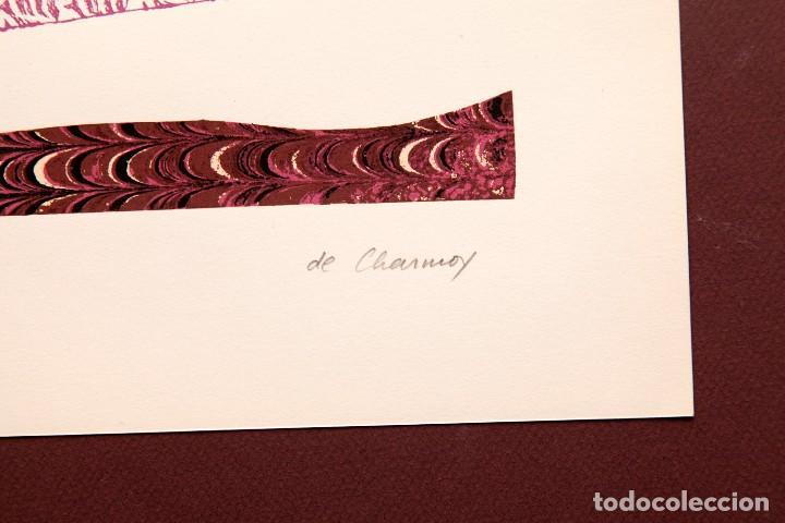 Arte: Cozette de Charmoy - S/T - Serigrafía a dos tintas 61/100 - Foto 5 - 116620387