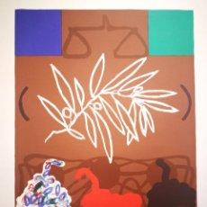 Arte: INTERESANTE OBRA SIMBOLICA - FIRMADA Y NUMERADA POR EL ARTISTA. Lote 118199419