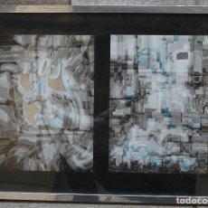 Arte: JOAN CLARET, SERIGRAFÍAS, 1977. 48X67CM. Lote 124604543