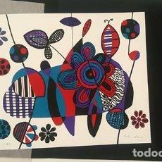 Arte: SERIGRAFIA RAFAEL AGREDANO . Lote 126889147