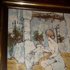 Arte: SERIGRAFIA ,DUFON, ENNMARCADA 53X45.. Lote 127663579