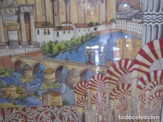 Arte: Serigrafía enmarcada - Córdoba - 71 x 51 cms. con marco. - Foto 3 - 127831987