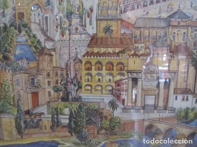 Arte: Serigrafía enmarcada - Córdoba - 71 x 51 cms. con marco. - Foto 4 - 127831987