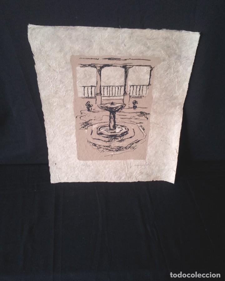 JUAN VIDA - SERIGRAFIA ORIGINAL DE 250 EJEMPLARES - GRANADA 1998 (Arte - Serigrafías )
