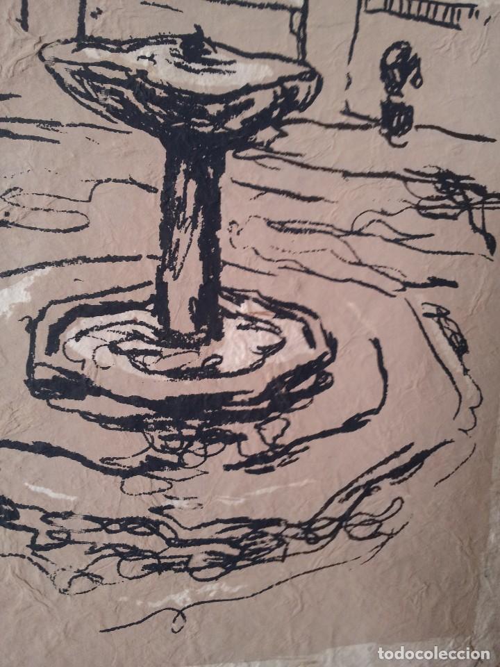 Arte: JUAN VIDA - SERIGRAFIA ORIGINAL DE 250 EJEMPLARES - GRANADA 1998 - Foto 5 - 127878399