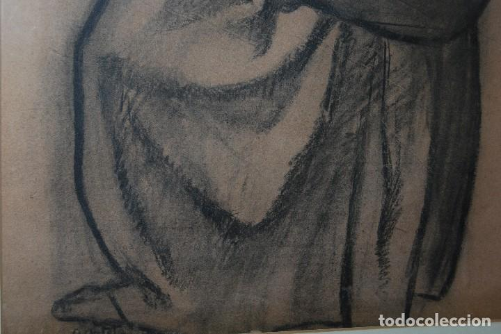 Arte: AURELIO ARTETA, BILBAO - REPRODUCCIÓN ENMARCADA - BOCETO - APUNTE - 68 x 53 CM. - Foto 6 - 137295233