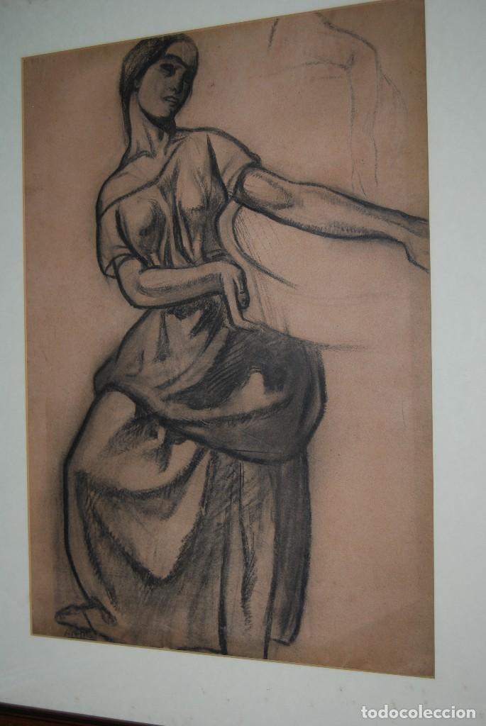 Arte: AURELIO ARTETA, BILBAO - REPRODUCCIÓN ENMARCADA - BOCETO - APUNTE - 68 x 53 CM. - Foto 10 - 137295233