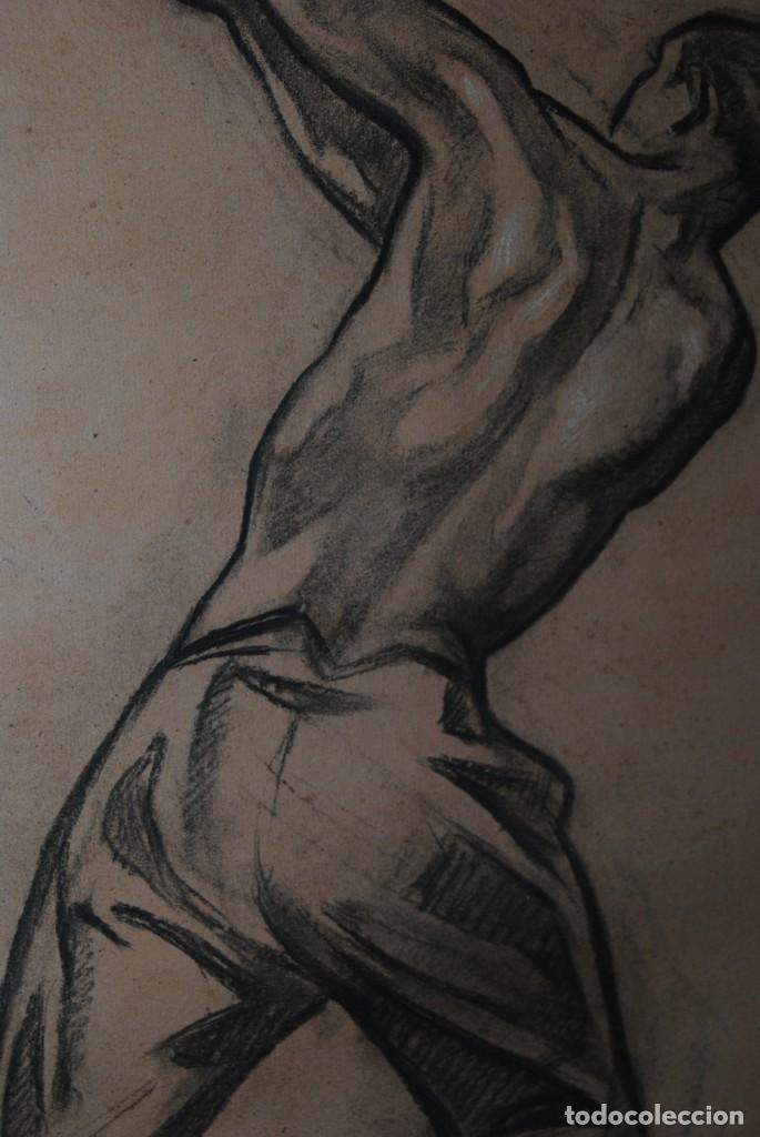 Arte: AURELIO ARTETA, BILBAO - REPRODUCCIÓN ENMARCADA - BOCETO - APUNTE - 68 X 53 CM. - Foto 4 - 137295349