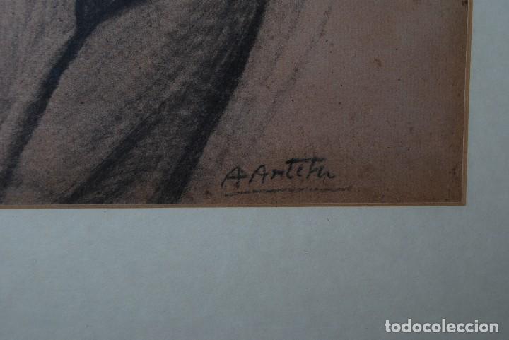 Arte: AURELIO ARTETA, BILBAO - REPRODUCCIÓN ENMARCADA - BOCETO - APUNTE - 68 X 53 CM. - Foto 6 - 137295349