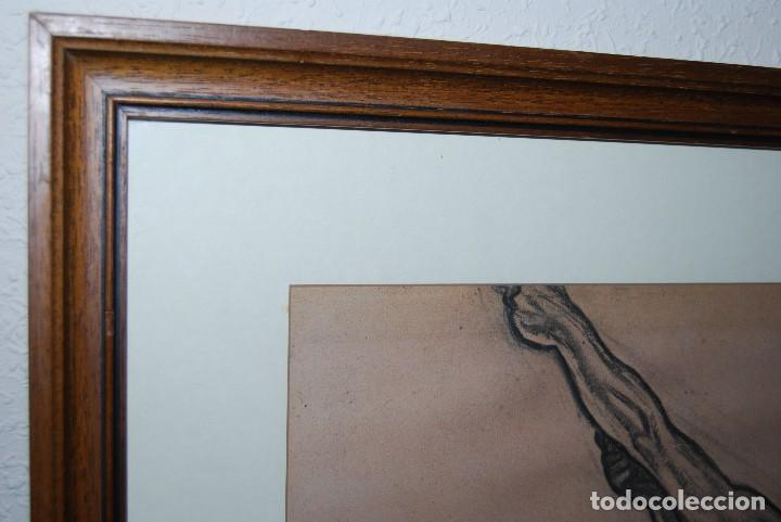 Arte: AURELIO ARTETA, BILBAO - REPRODUCCIÓN ENMARCADA - BOCETO - APUNTE - 68 X 53 CM. - Foto 8 - 137295349
