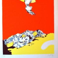 Arte: RAFAEL BARTOLOZZI (1943-2009) FIRMADO A LÁPIZ Y NUMERADO III. Lote 129352755