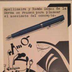 Art: EQUIPO CRÓNICA -APOLLINAIRE Y RAMÓN GÓMEZ ...-. Lote 133654133