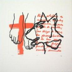 Arte: SERIGRAFÍA MANUEL FLORES. Lote 133156574