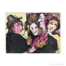 Arte: LUIS GARCIA OCHOA-GRUPO DE FIGURAS. Lote 133571078