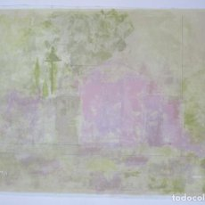 Arte: DIBUJO MOTIVO GEOMÉTRICO, FIRMADO VARGAS, TÉCNICA MIXTA, IMPRESO SOBRE LIENZO, TIRAJE 6/7. 79X60CM. Lote 133809258