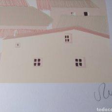 Arte: J.ANTONIO RODRÍGUEZ . 2 SERIGRAFÍAS SOBRE BOCETOS DEL ARTISTA (ESPACIOS 3) FIRMADAS Y NUMERADAS. Lote 133847138