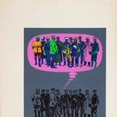 Arte: HORACIO SAPERE Y SAEZ CERONI - SERIGRAFÍA - 45/60 - 1976. Lote 134314922