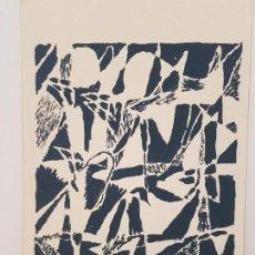 Arte: ARMANDO - COMPOSICIÓN ABSTRACTA, 1984 SOBRE PAPEL GUARRO, 50X35CM. Lote 134933086