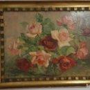 Arte: CUADRO DE GEORGE DANSET - REPRO EN SERIGRAFÍA BARNIZADA S/TABLA ENMAR. 57 X 74 - AÑOS 50/60. Lote 135053682