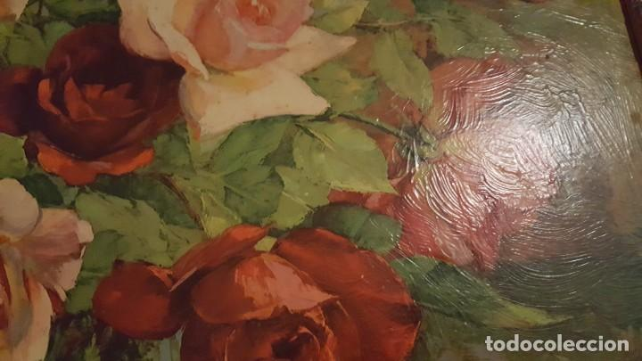 Arte: CUADRO de GEORGE DANSET - REPRO en SERIGRAFÍA BARNIZADA S/TABLA ENMAR. 57 x 74 - Años 50/60 - Foto 6 - 135053682