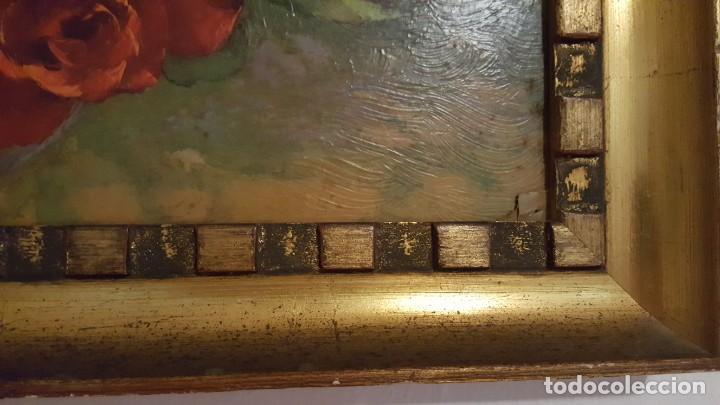 Arte: CUADRO de GEORGE DANSET - REPRO en SERIGRAFÍA BARNIZADA S/TABLA ENMAR. 57 x 74 - Años 50/60 - Foto 8 - 135053682