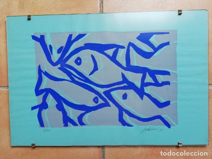 SERIGRAFÍA- OBRA DE TERESA MAS (Arte - Serigrafías )