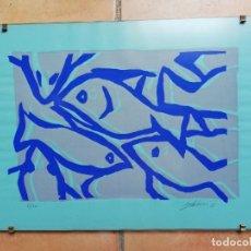 Arte: SERIGRAFÍA- OBRA DE TERESA MAS. Lote 137820314