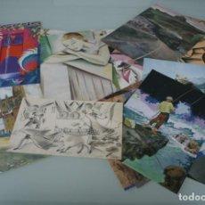 Arte: COLECCIÓN PRIVADA ABC 100 AÑOS A LA VANGUARDIA DEL ARTE – CARPETA CON 25 LAMINAS SERIE LIMITADA . Lote 138220998