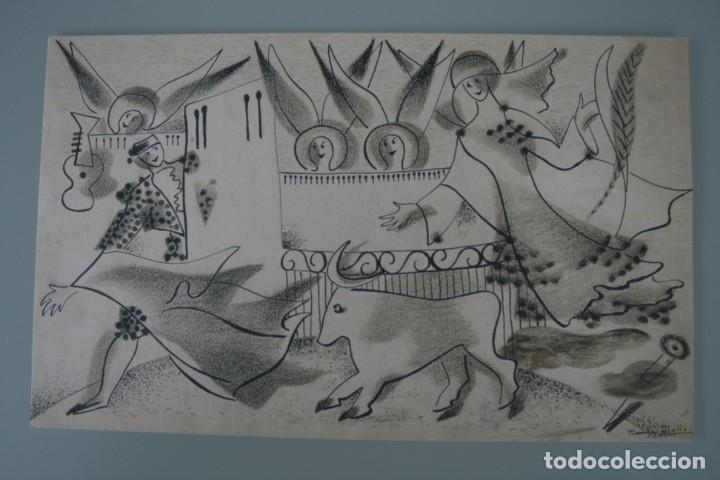 Arte: COLECCIÓN PRIVADA ABC 100 AÑOS A LA VANGUARDIA DEL ARTE – CARPETA CON 25 LAMINAS SERIE LIMITADA - Foto 2 - 138220998
