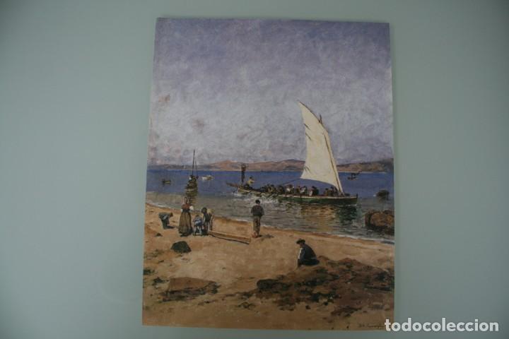 Arte: COLECCIÓN PRIVADA ABC 100 AÑOS A LA VANGUARDIA DEL ARTE – CARPETA CON 25 LAMINAS SERIE LIMITADA - Foto 14 - 138220998