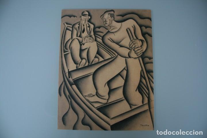 Arte: COLECCIÓN PRIVADA ABC 100 AÑOS A LA VANGUARDIA DEL ARTE – CARPETA CON 25 LAMINAS SERIE LIMITADA - Foto 16 - 138220998