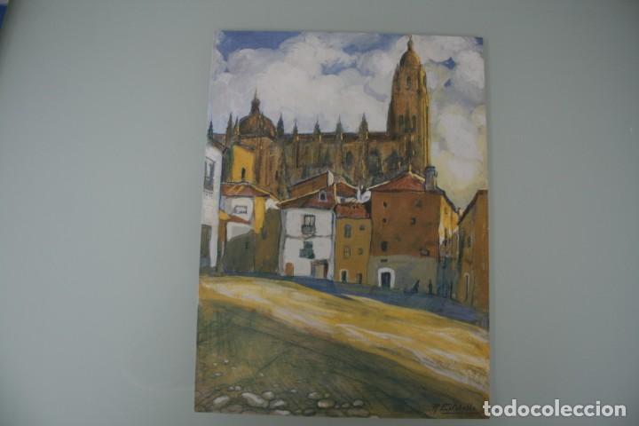 Arte: COLECCIÓN PRIVADA ABC 100 AÑOS A LA VANGUARDIA DEL ARTE – CARPETA CON 25 LAMINAS SERIE LIMITADA - Foto 20 - 138220998