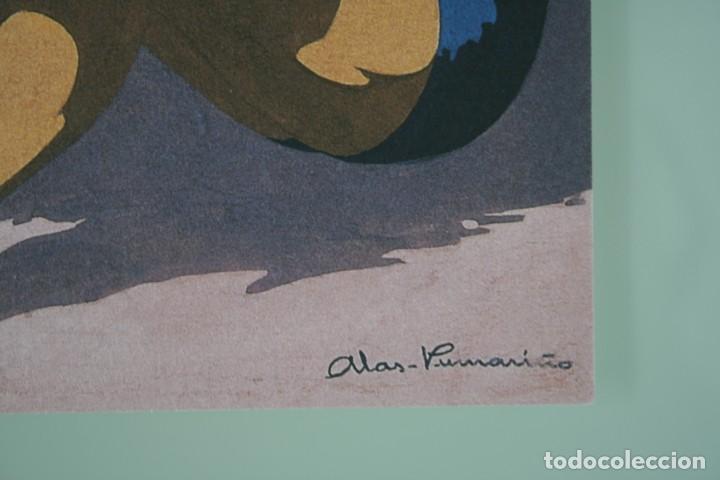 Arte: COLECCIÓN PRIVADA ABC 100 AÑOS A LA VANGUARDIA DEL ARTE – CARPETA CON 25 LAMINAS SERIE LIMITADA - Foto 23 - 138220998
