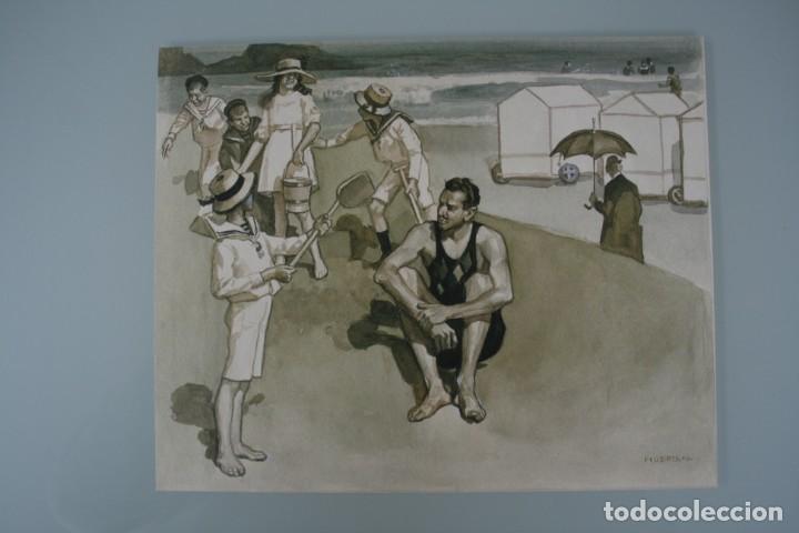 Arte: COLECCIÓN PRIVADA ABC 100 AÑOS A LA VANGUARDIA DEL ARTE – CARPETA CON 25 LAMINAS SERIE LIMITADA - Foto 27 - 138220998