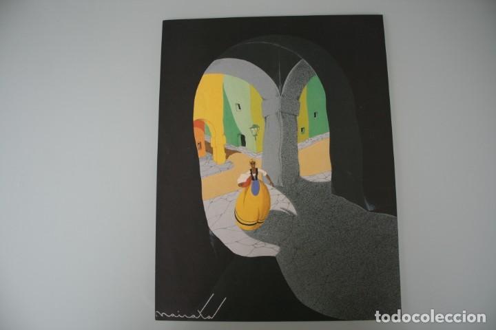 Arte: COLECCIÓN PRIVADA ABC 100 AÑOS A LA VANGUARDIA DEL ARTE – CARPETA CON 25 LAMINAS SERIE LIMITADA - Foto 35 - 138220998