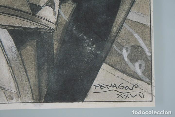 Arte: COLECCIÓN PRIVADA ABC 100 AÑOS A LA VANGUARDIA DEL ARTE – CARPETA CON 25 LAMINAS SERIE LIMITADA - Foto 38 - 138220998