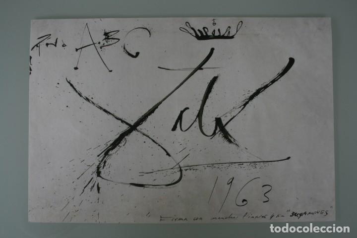 Arte: COLECCIÓN PRIVADA ABC 100 AÑOS A LA VANGUARDIA DEL ARTE – CARPETA CON 25 LAMINAS SERIE LIMITADA - Foto 39 - 138220998