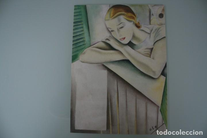 Arte: COLECCIÓN PRIVADA ABC 100 AÑOS A LA VANGUARDIA DEL ARTE – CARPETA CON 25 LAMINAS SERIE LIMITADA - Foto 41 - 138220998