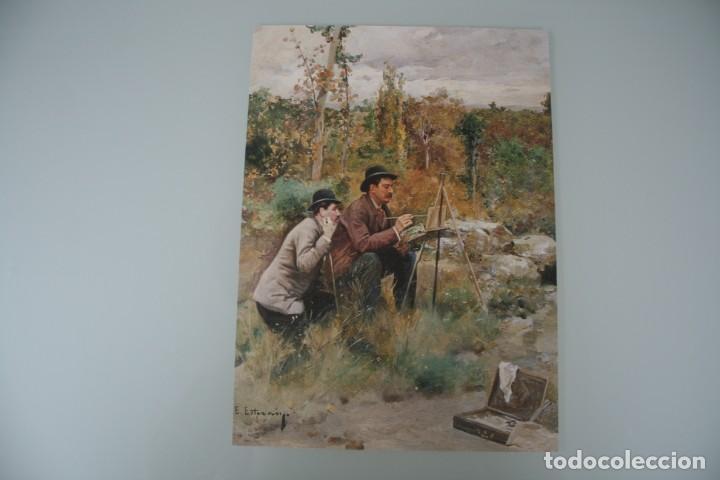 Arte: COLECCIÓN PRIVADA ABC 100 AÑOS A LA VANGUARDIA DEL ARTE – CARPETA CON 25 LAMINAS SERIE LIMITADA - Foto 46 - 138220998