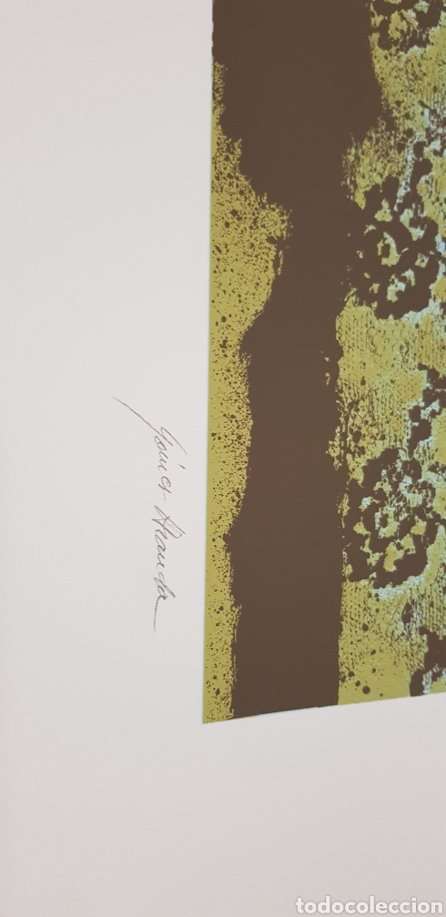 Arte: Rafael Gomez Aranda.serigrafia firmada y numerada - Foto 3 - 140713325