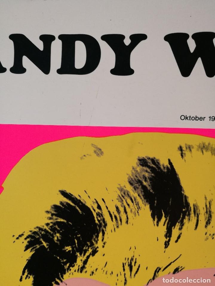 Arte: CARTEL ORIGINAL EXPOSICION ANDY WARHOL...Ausstellungsplakat Galerie Binhold, Berlin, 1980-REF-D - Foto 9 - 141164606