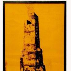 Arte: MIQUEL NAVARRO | FUMERAL VOLCÀNIC (1973). Lote 143738990