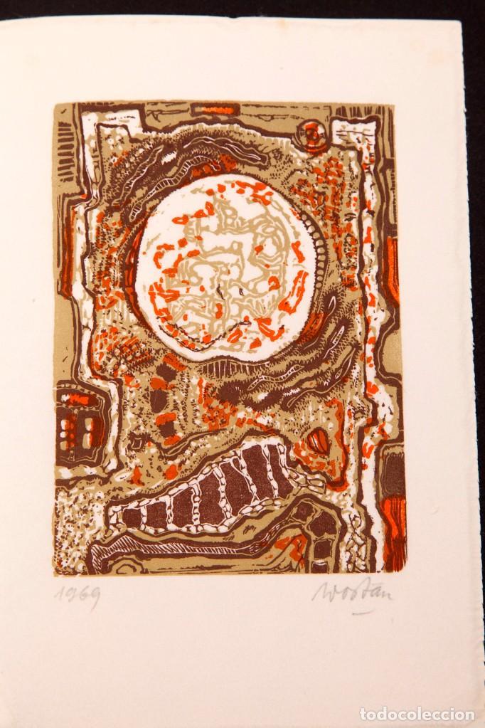 WOSTAN - LARA VINCY - 1969 (Arte - Serigrafías )