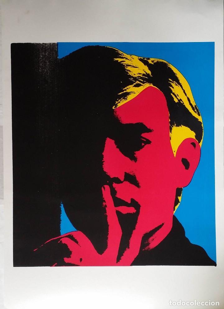 ANDY WARHOL: AUTORRETRATO, SERIGRAFÍA, 1967 (Arte - Serigrafías )